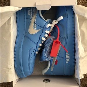 Nike Shoes Air Force 1 Low Offwhite Mca University Blue Poshmark